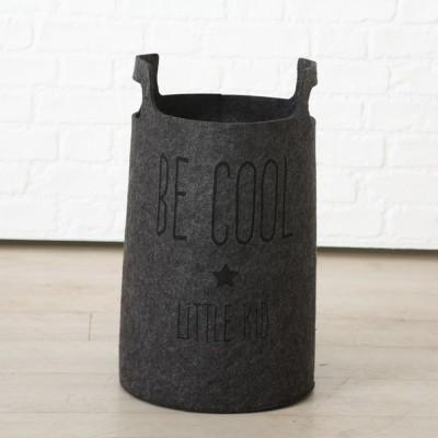 Kosz filcowy, pojemnik na zabawki COOL, 50 cm