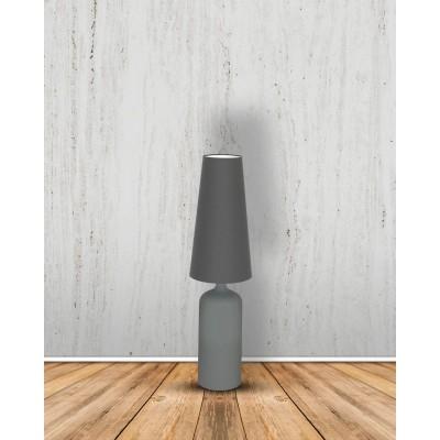 Lampa Stojąca VIRGO L szara, stołowa