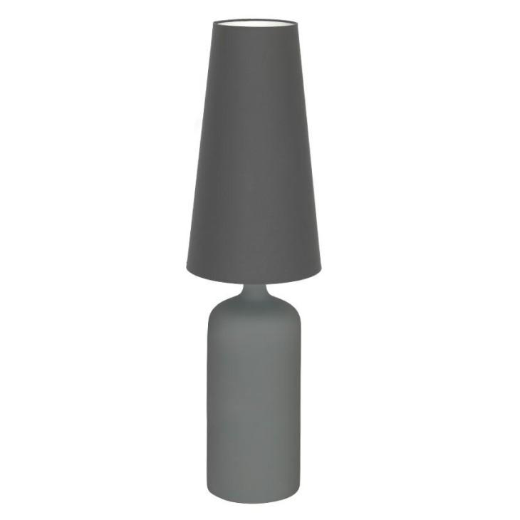 Lampa Stojąca VIRGO L szara, stołowa MiLAGRO MLP3781