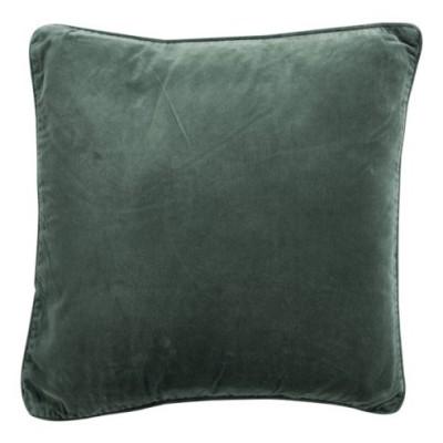 Poduszka aksamitna zielona VELVET GREEN 45x45cm
