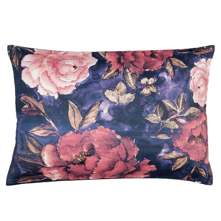 Poduszka dekoracyjna w kwiaty GARDEN 30x50cm Clayre & Eef PEO36
