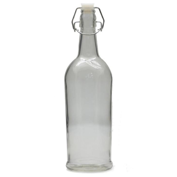 Ozdobna butelka z zapięciem mechanicznym ELEGANCE 1litr Arte Regal 44550