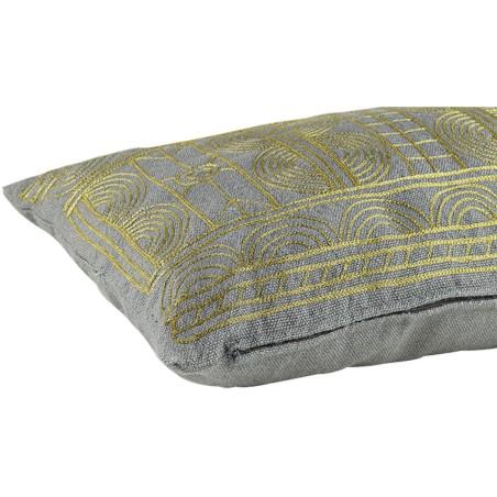 Poduszka ogrodowa, poduszka tarasowa DESERT NOON szaro-złota, 40x60cm