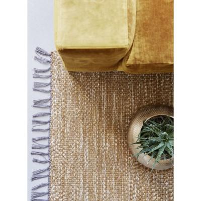 Doniczka metalowa STAMPING, misa złota 20 x 30 x 14 cm