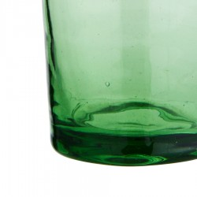 Szklanka zielona BELDI ze szkła z recyklingu