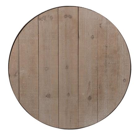 Stół okrągły LOFT metalowy, stolik drewniany