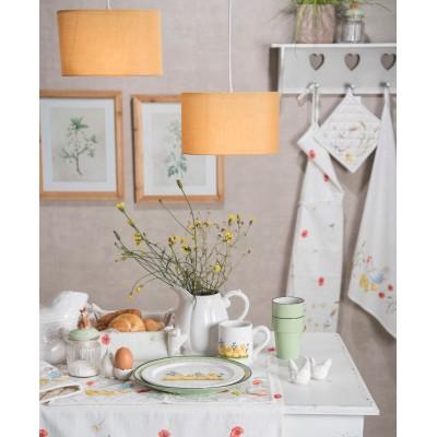 Grafika obraz na ścianę kwiaty w drewnianej ramie II