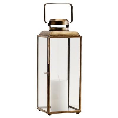 Lampion metalowy BRASS,...