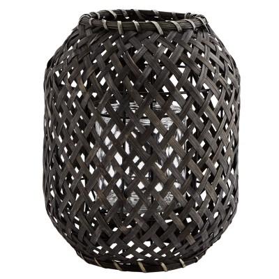 Lampion bambusowy NOIR,...