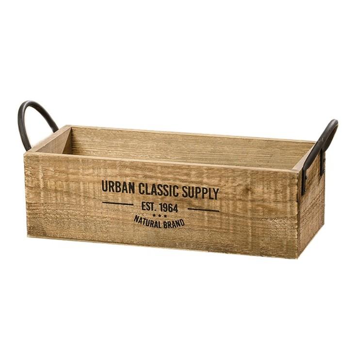 Skrzynka ozdobna drewniana SUPPLY 46 cm Boltze 1009549.2