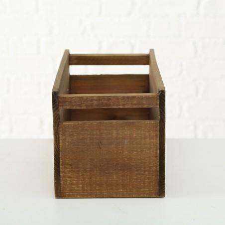 Skrzynka ozdobna drewniana LEOPOLD L