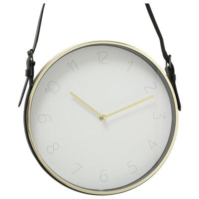 Zegar ścienny na pasku...