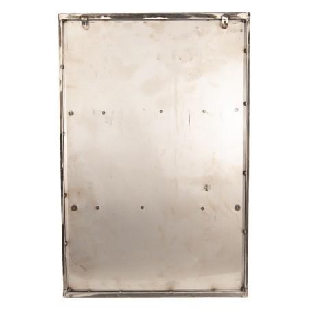 Szafka metalowa wisząca LOFT, witrynka wisząca