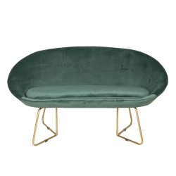 Sofa VELVET GREEN, velour,...