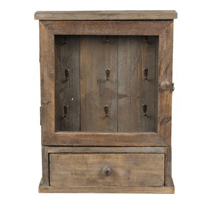 Szafka na klucze drewniana...