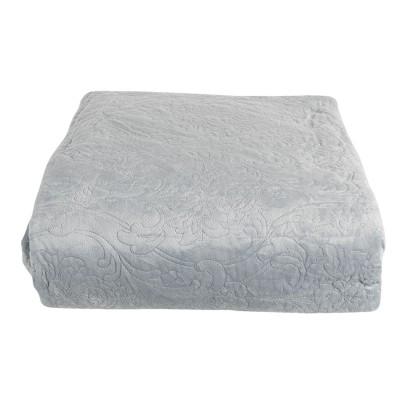 Narzuta na łóżko niebieska...