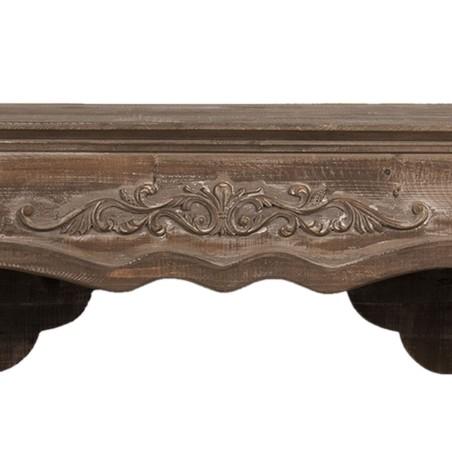 Portal kominkowy drewniany, obudowa kominka