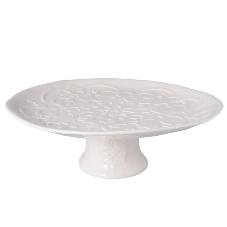 Patera ceramiczna PALERMO na tort do ciasta Clayre & Eef 6CE0850