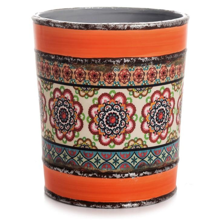 Donica ceramiczna Andaluzja pomarańczowa Giftdecor 47719