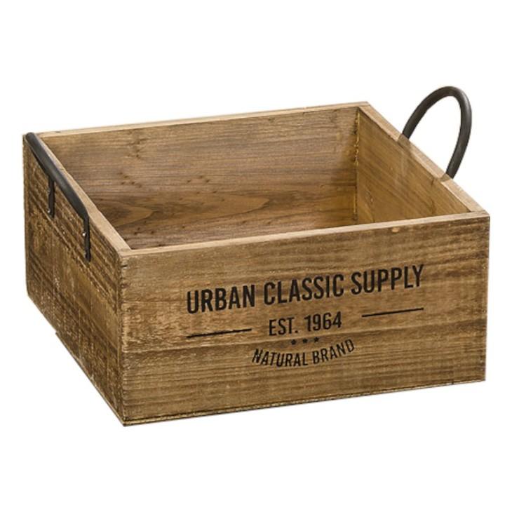 Skrzynka ozdobna drewniana SUPPLY BOX L Boltze 1009548.1