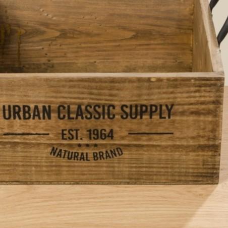 Skrzynka ozdobna drewniana SUPPLY BOX L