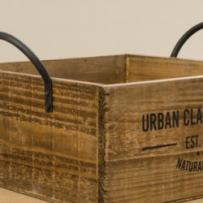 Skrzynka ozdobna drewniana SUPPLY BOX M