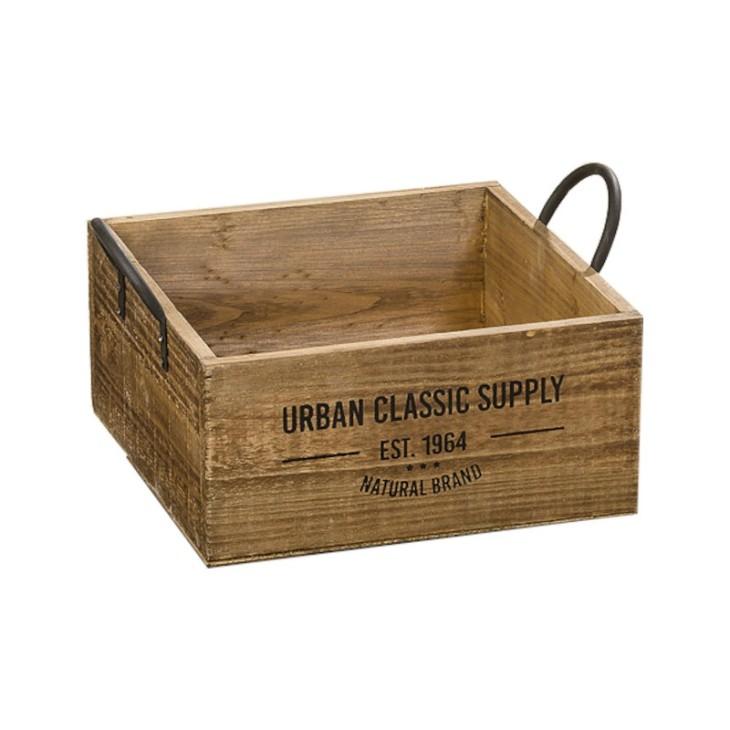 Skrzynka ozdobna drewniana SUPPLY BOX M Boltze 1009548.2
