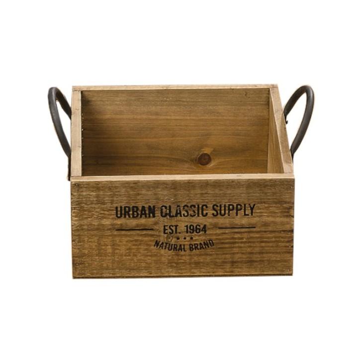 Skrzynka ozdobna drewniana SUPPLY BOX S Boltze 1009548.3