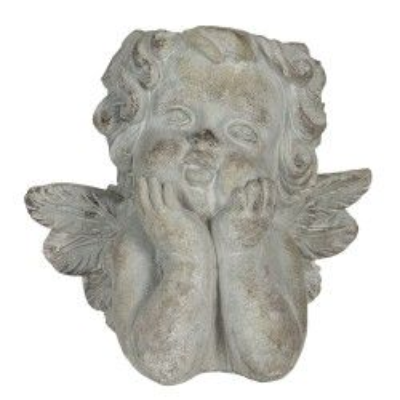 Doniczka rzeźba aniołek...