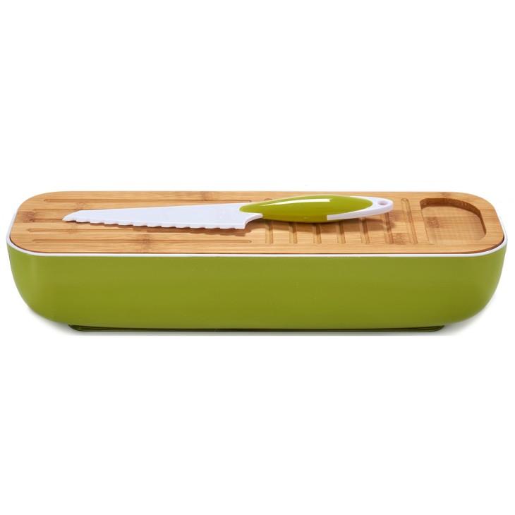 Chlebak, zestaw piknikowy zielony Arte Regal 48719.2
