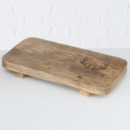 Deska do krojenia drewniana MOUNTAIN CLUB