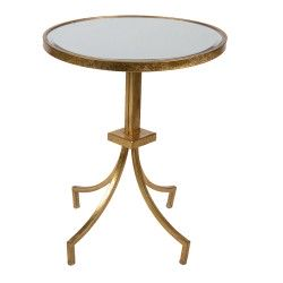 Stolik kawowy złoty okrągły...