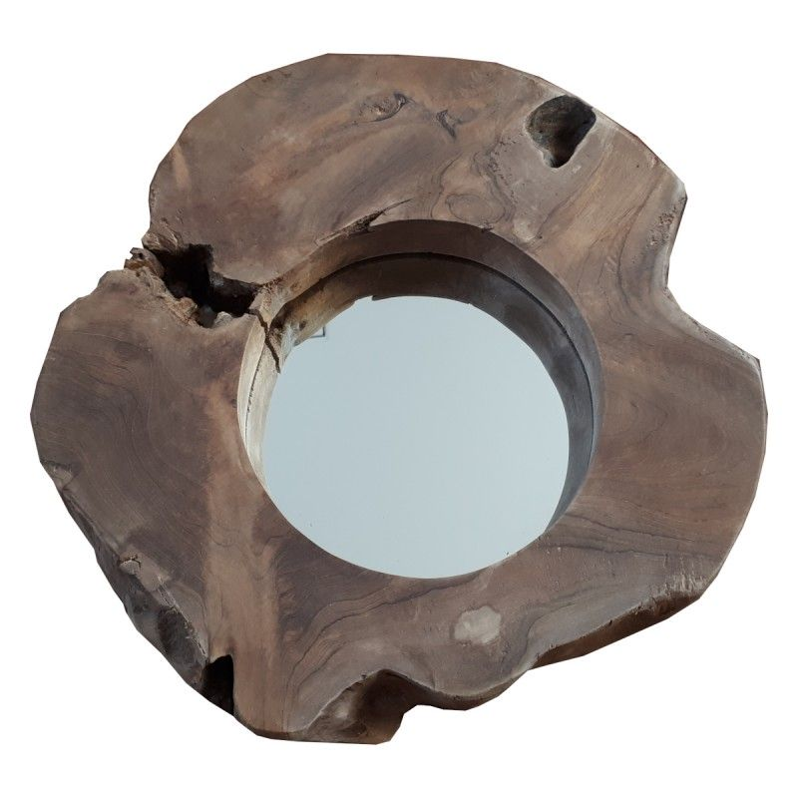 Lustro drewniane WOOD 1 rustykalne Boltze 2009359.1