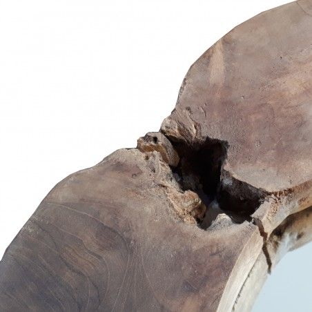 Lustro drewniane WOOD 1 rustykalne