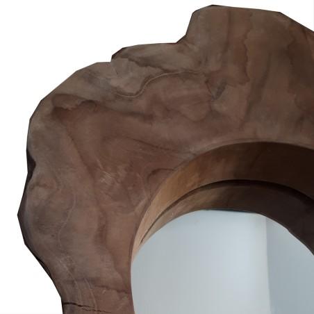 Lustro drewniane WOOD 2 rustykalne