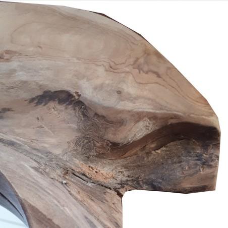 Lustro drewniane WOOD 3 rustykalne