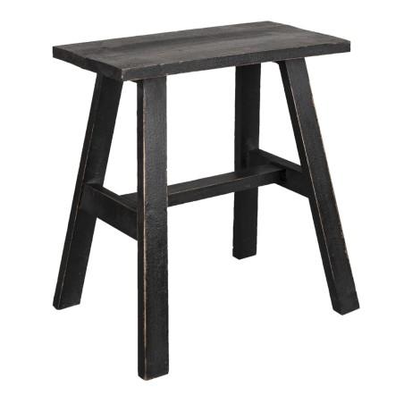 Stolik drewniany skandynawski brązowy L stolik kawowy