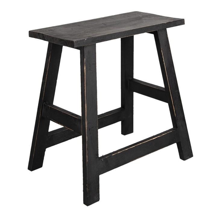 Stolik drewniany skandynawski kwietnik brązowy Clayre & Eef 6H2057