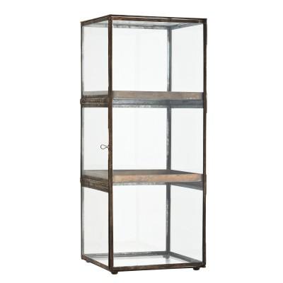 Witryna szklana stojąca z...