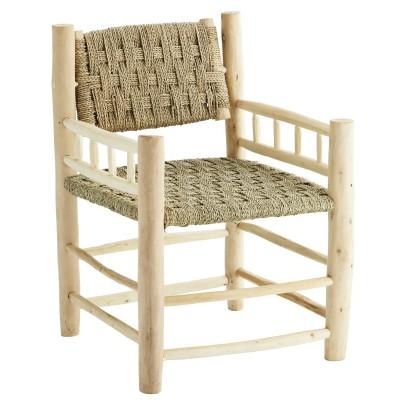 Fotel drewniany BOHO,...