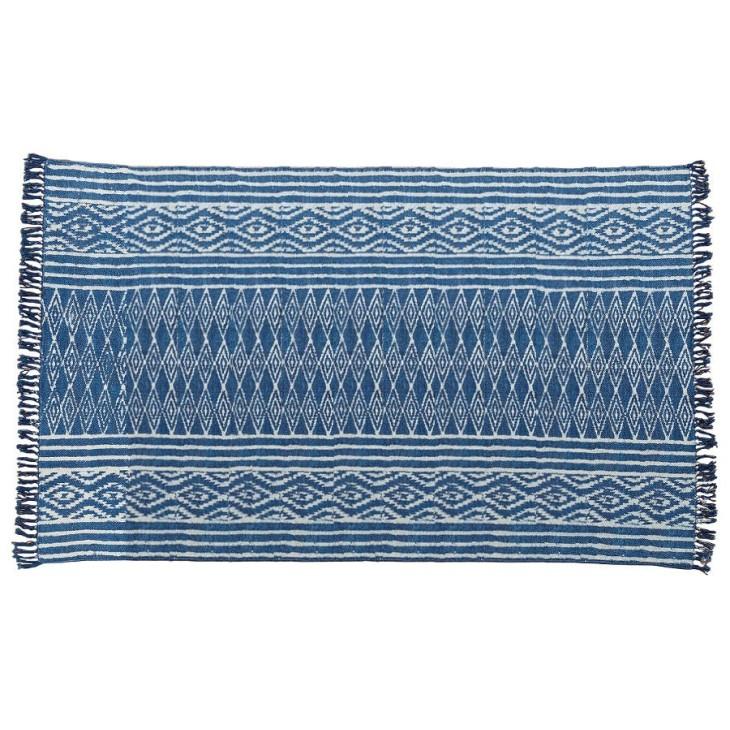 Dywan bawełniany CASABLANCA niebieski 115x200cm Boltze 1001669.2