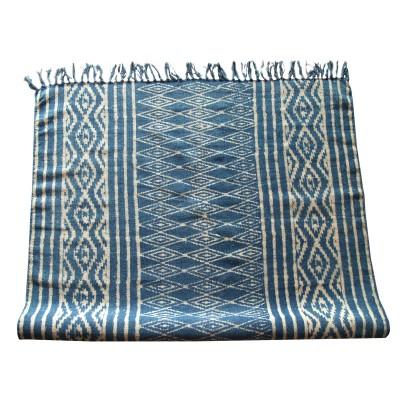 Dywan bawełniany CASABLANCA niebieski 115x200cm
