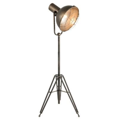 Lampa podłogowa metalowa...