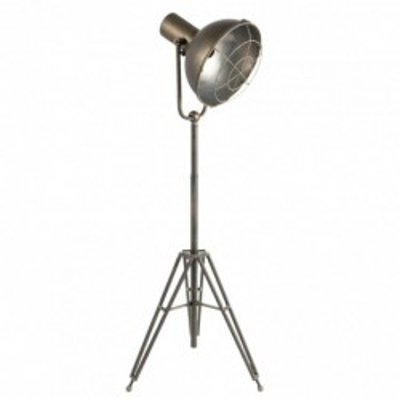 Lampa podłogowa metalowa INDUSTRIAL