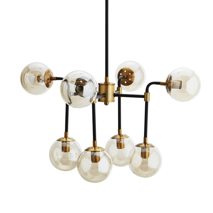 Lampa wisząca AMBER 75x100cm Madam Stoltz SG107B-8