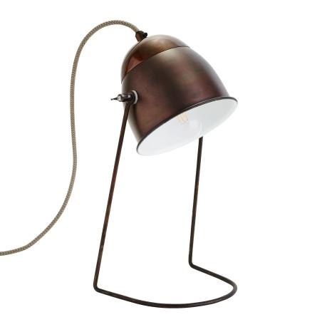 Lampa stołowa ANTIQUE antyczny brąz/ mosiądz
