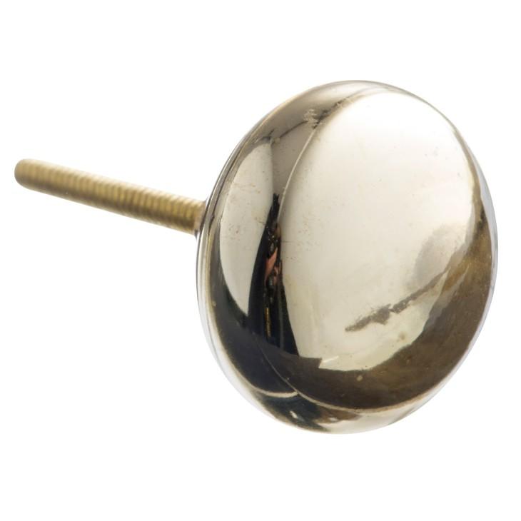 Gałka do mebli GLASS złota Madam Stoltz TA2021