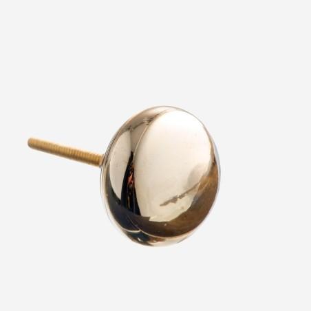 Złota gałka do mebli GLASS