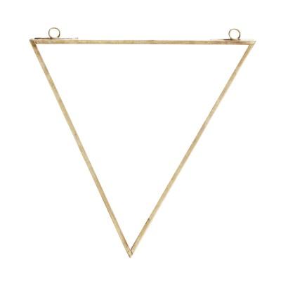 Lustro złote trójkątne...
