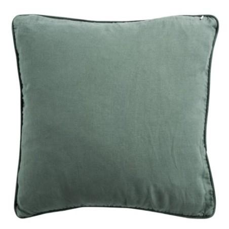 Poduszka dekoracyjna aksamitna zielona VELVET GREEN 45x45cm